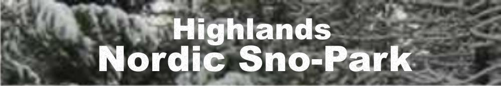 Welcome to Highlands Nordic Sno-Park